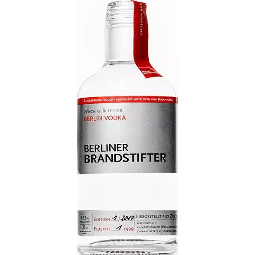 Berlin Vodka - Berliner Brandstifter 43,3% 0,35l