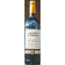 Mission Saint Vincent rouge AOC Bordeaux 2016 0,75l