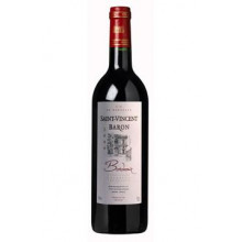 Saint-Vincent Baron rouge AOC Bordeaux 2012 1,00l